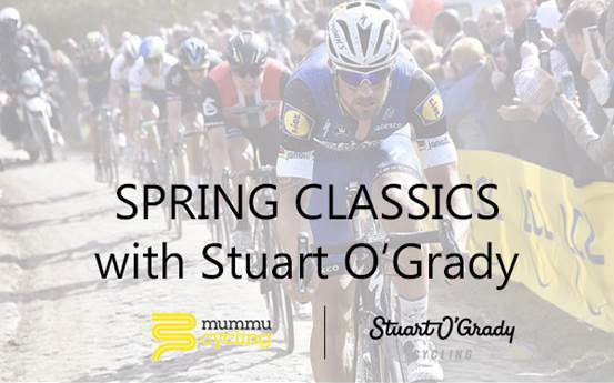 Cycle the spring classics with Stuart O'Grady